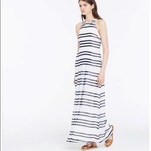Ann Taylor Striped Maxi Dress